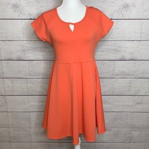 Papermoon Stitch Fix Silas dress Coral